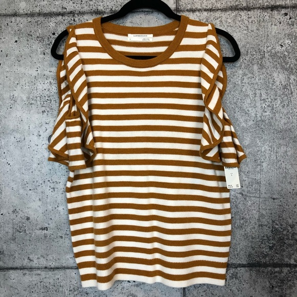 Anthropologie Tops - Anthropologie // Striped Knit Tank